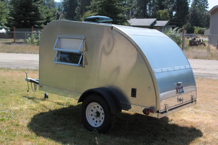 Teardrop Trailer – Completed Pictures
