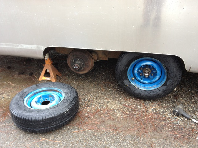 Airstream New Radial Tires