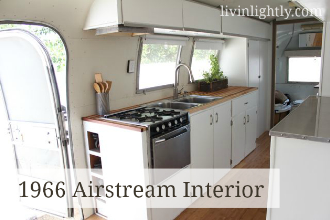 The Airstream Interior Tour