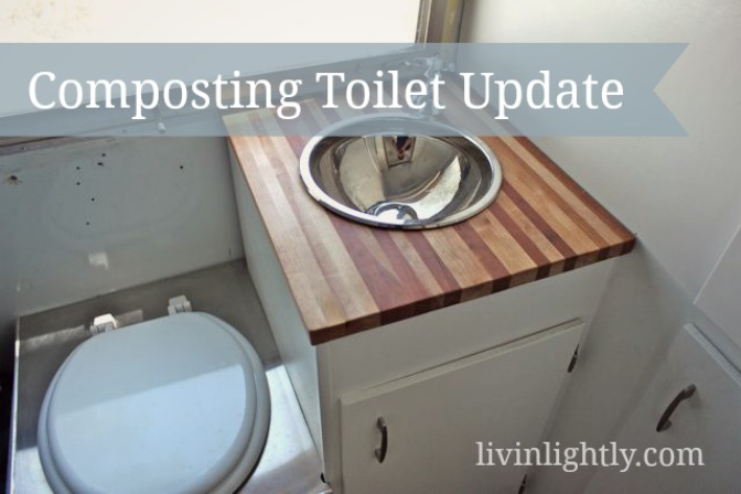 Composting Toilet 4-month Update
