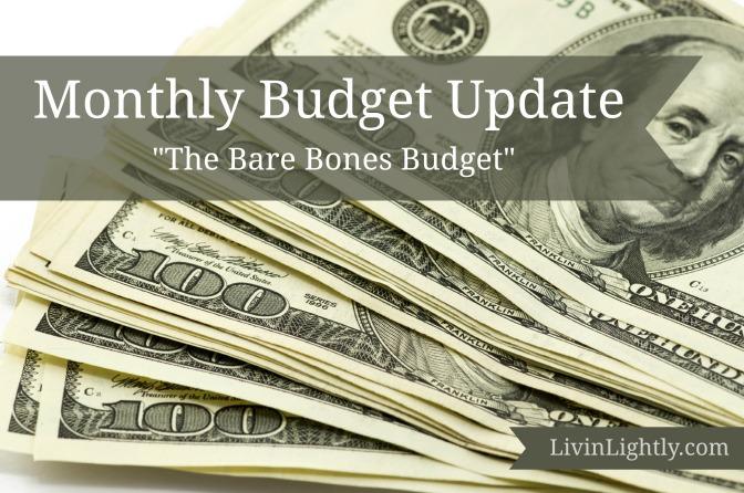 The Bare-Bones Budget