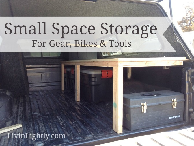 Small Space Storage: Gear, Tools & Bikes