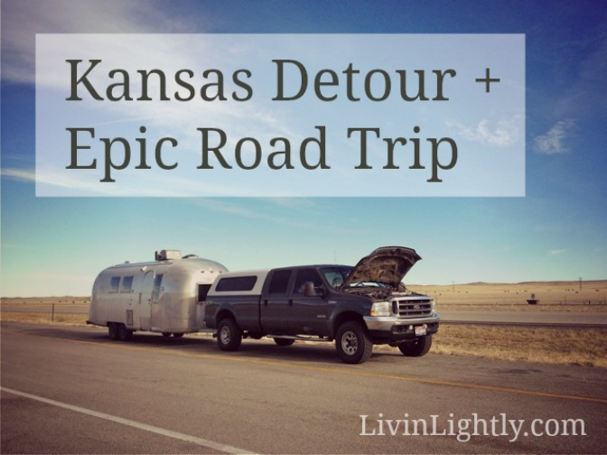 Kansas Detour + Epic Roadtrip
