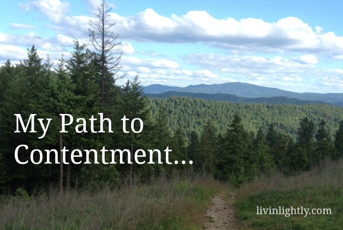 My Path to Contentment