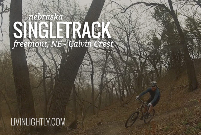 NEBRASKA SINGLETRACK – Calvin Crest Mountain Bike Ride