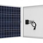 small 50W solar panel